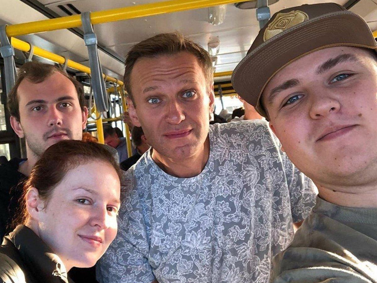 Попутчик Навального из Томска рассказал о ЧП в самолете