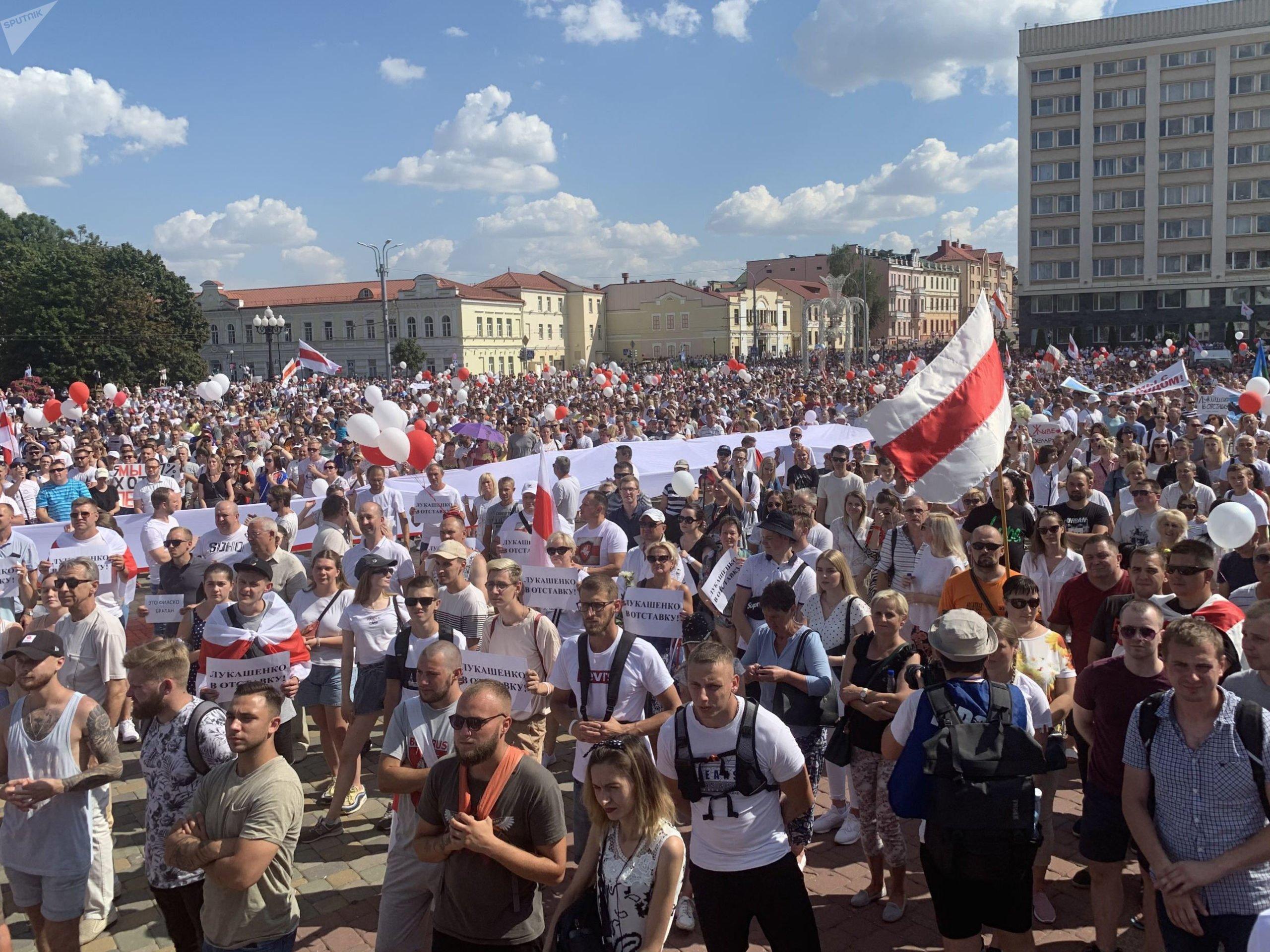 Протесты в Гродно