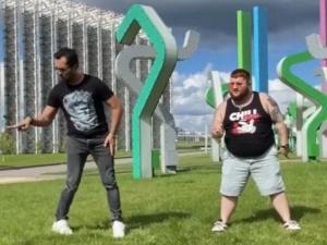 Ревва и Пухляш танцевальный батл