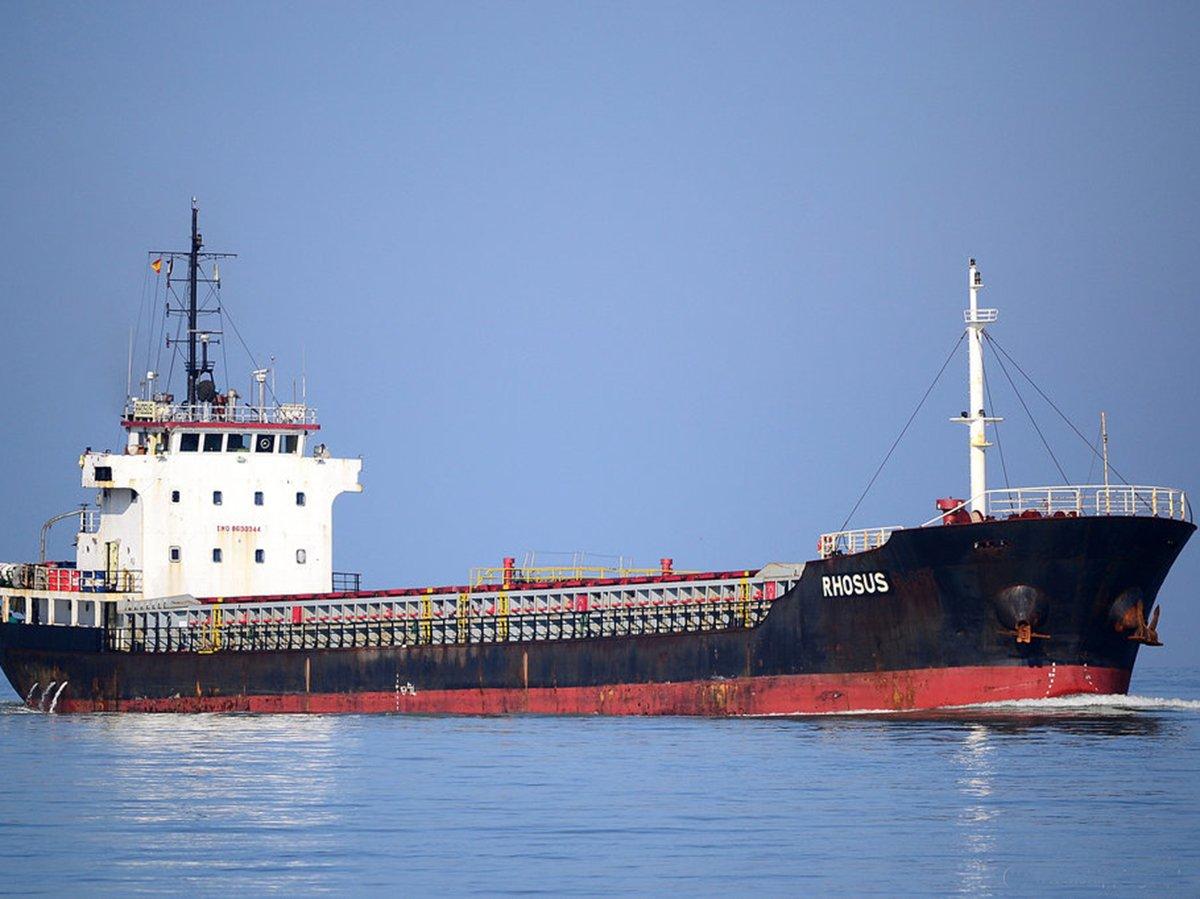 Rhosus затонуло в Ливане