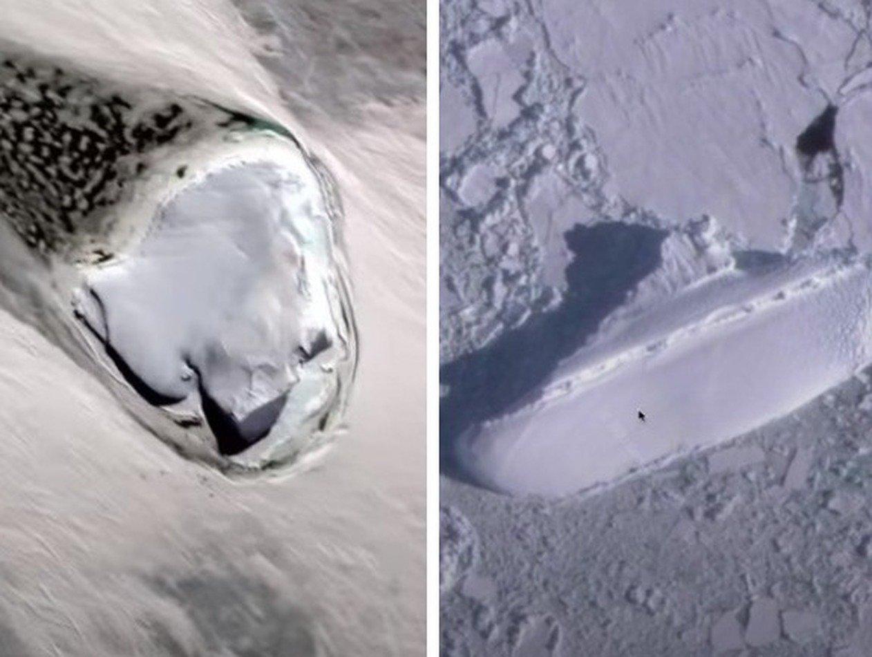 «Секретный корабль нацистов» обнаружен у берегов Антарктиды