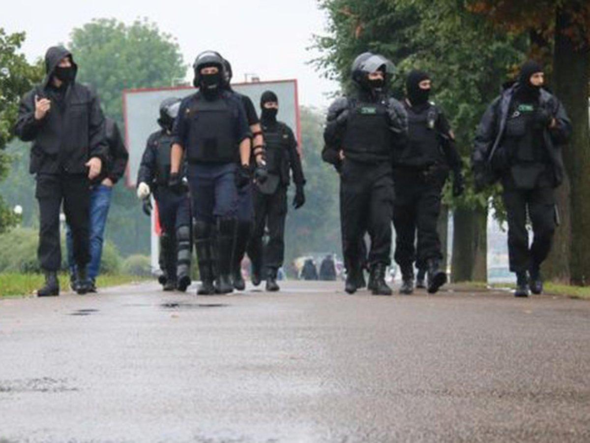 Силовики в Белоруссии
