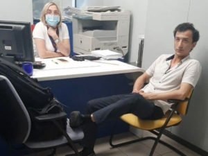 Террорист захватил банк в Киеве