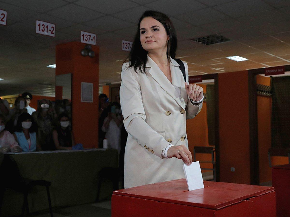 Тихановская уехала из Белоруссии