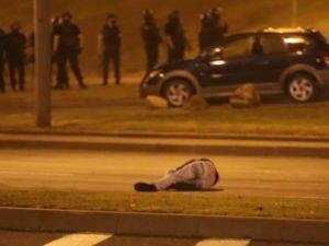 В Минске гаишники избивают водителей
