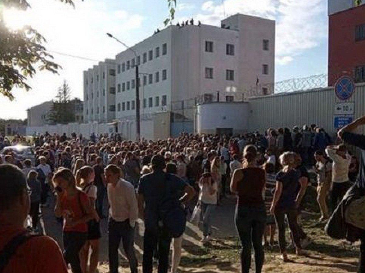 В Белоруссии начали выпускать задержанных из СИЗО