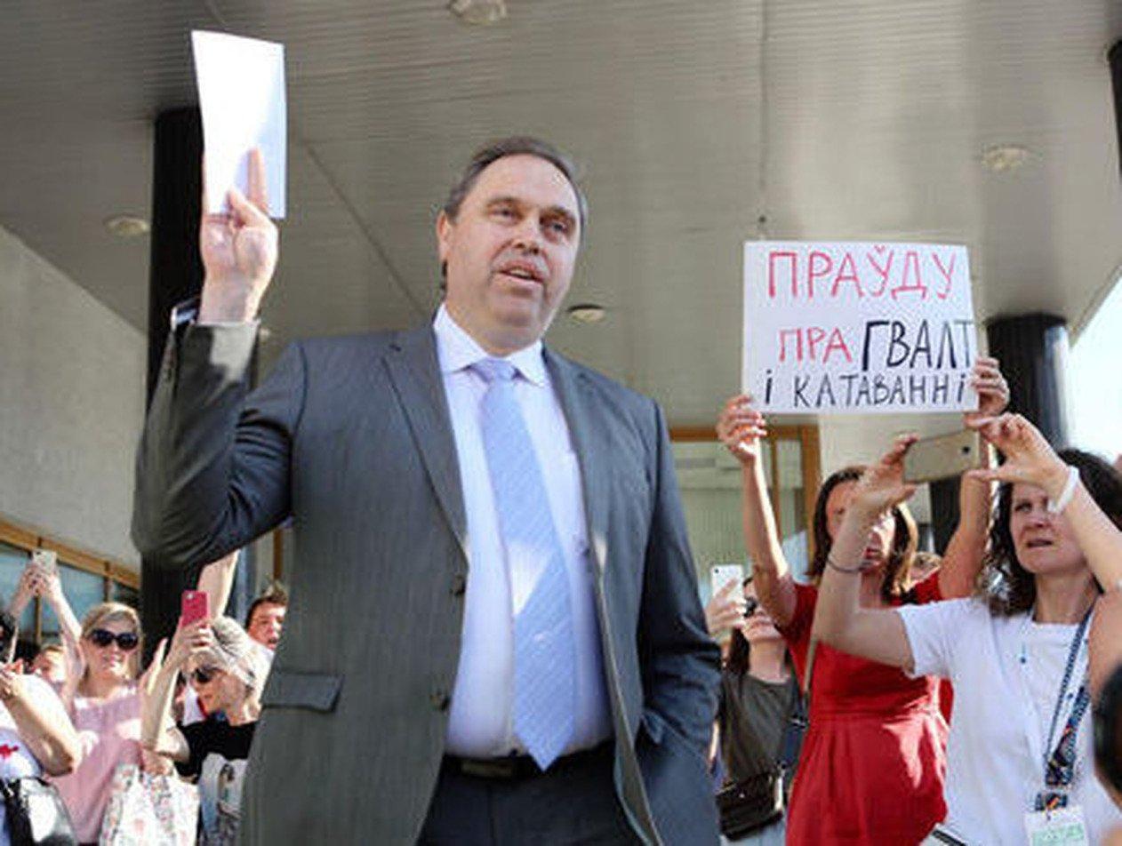 Глава Минздрава Беларуси написал открытое письмо к протестующим
