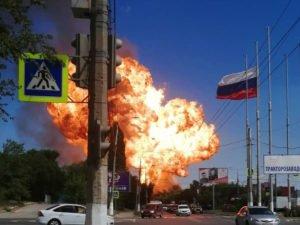 Взрыв в Волгограде