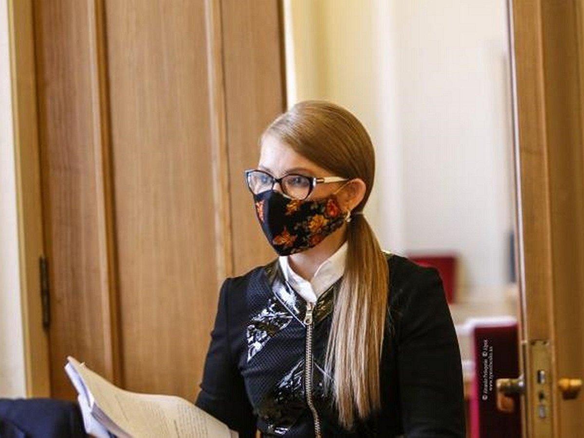 Заразившаяся COVID-19 Тимошенко находится с критическом состоянии