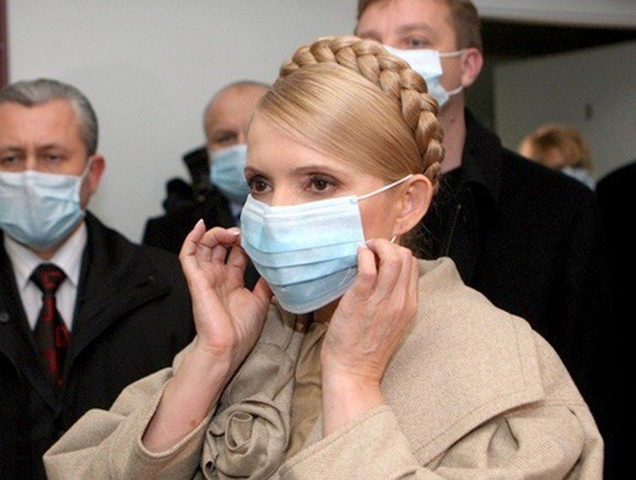 Зараженную COVID-19 Юлию Тимошенко подключили к ИВЛ