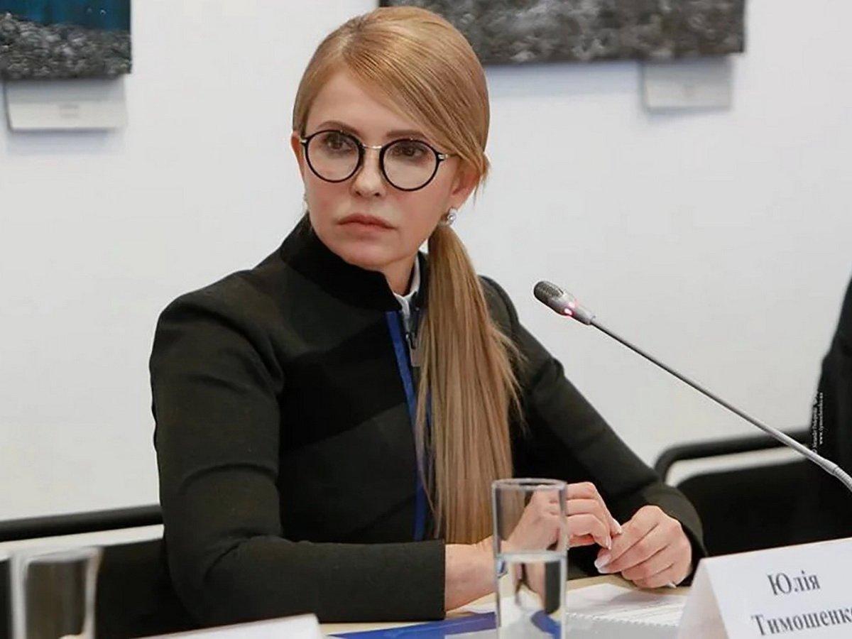 Юлию Тимошенко госпитализировали с COVID-19