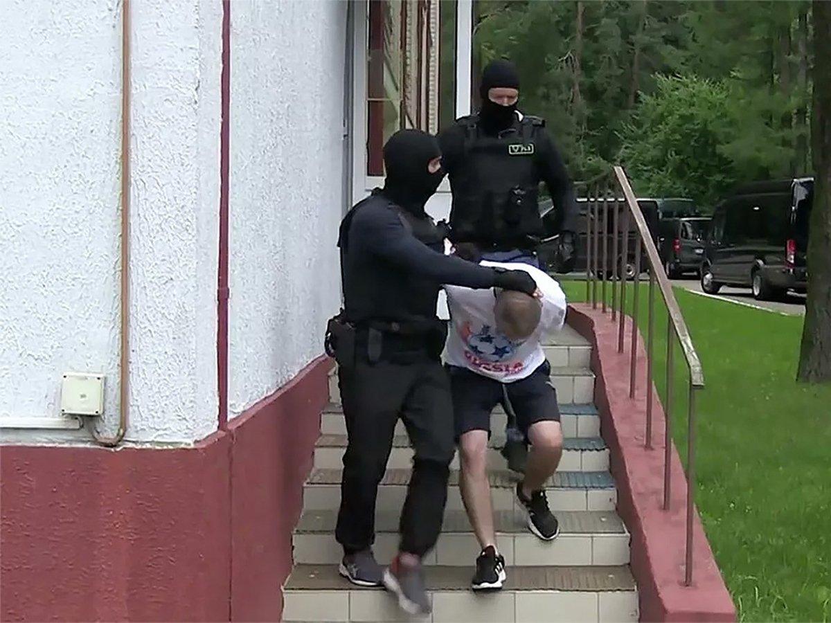 Задержанные в Белоруссии бойцы ЧВК Вагнера