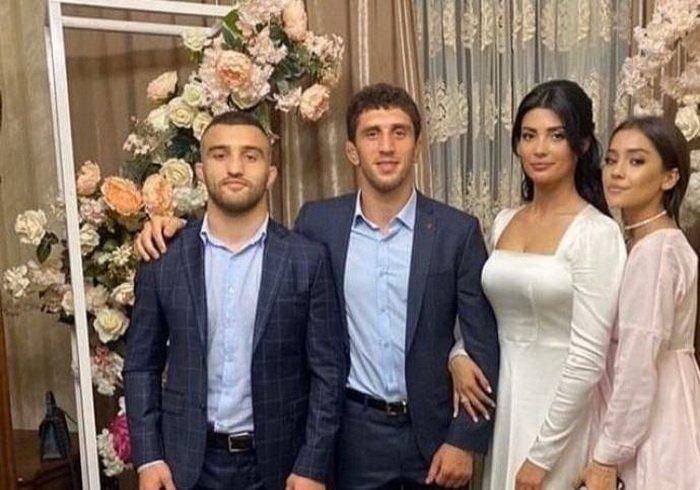 Заурбек Сидаков: фото со свадьбы