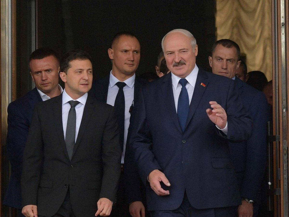 Украина разорвала отношения с Белоруссией