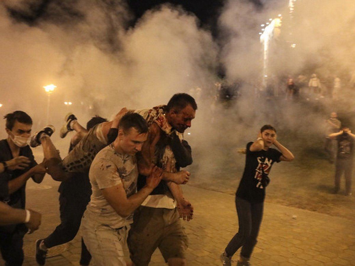 Минск захлестнули беспорядки: есть погибший