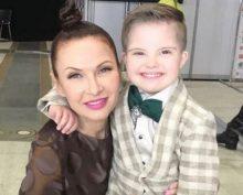 Бледанс с сыном