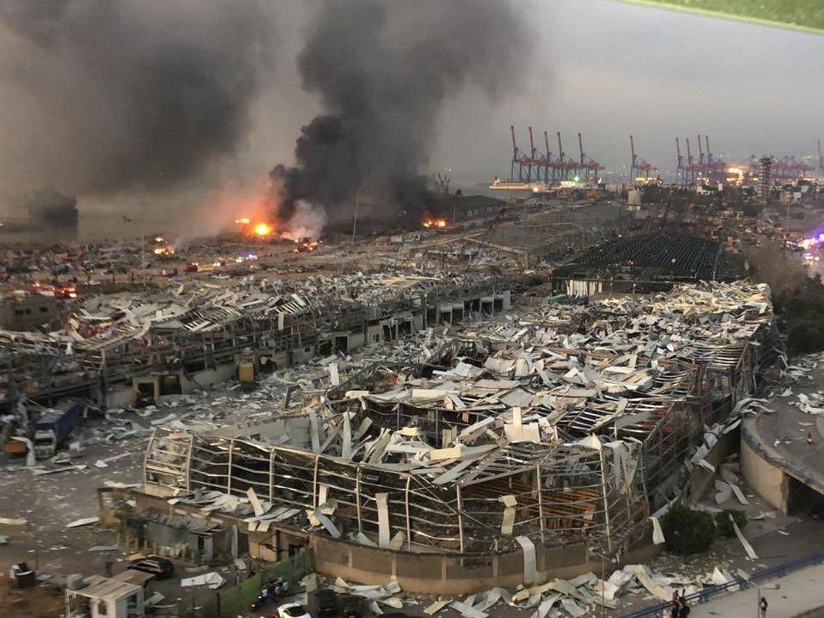 Названа причина страшного взрыва вБейруте