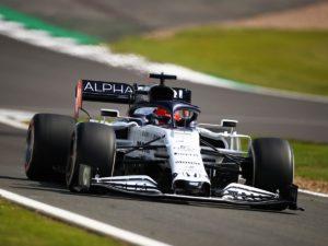 Болид Квята на Гран-при Великобритании