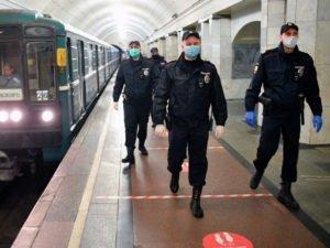 В московском метро стали штрафовать за отсутствие масок