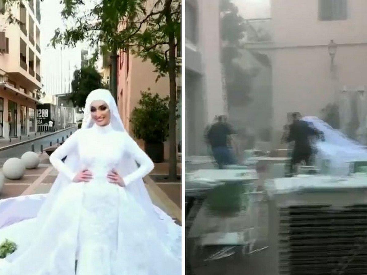 Свадьба во время взрыва