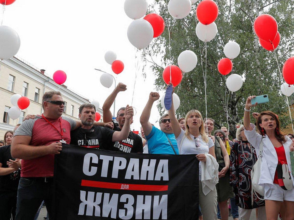 Спортсмены Белоруссии выступили против Лукашенко