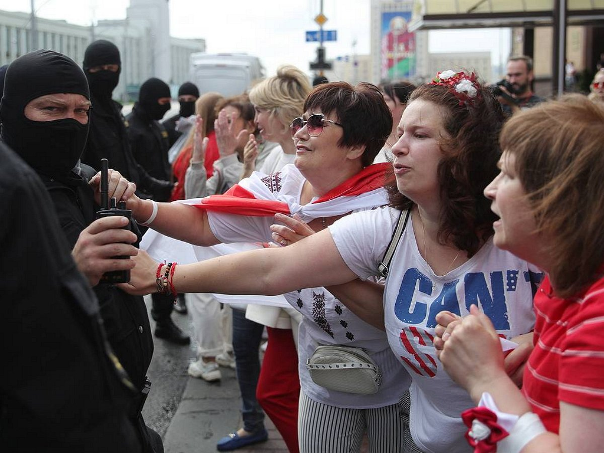 митинг у здания КГБ, Беларусь