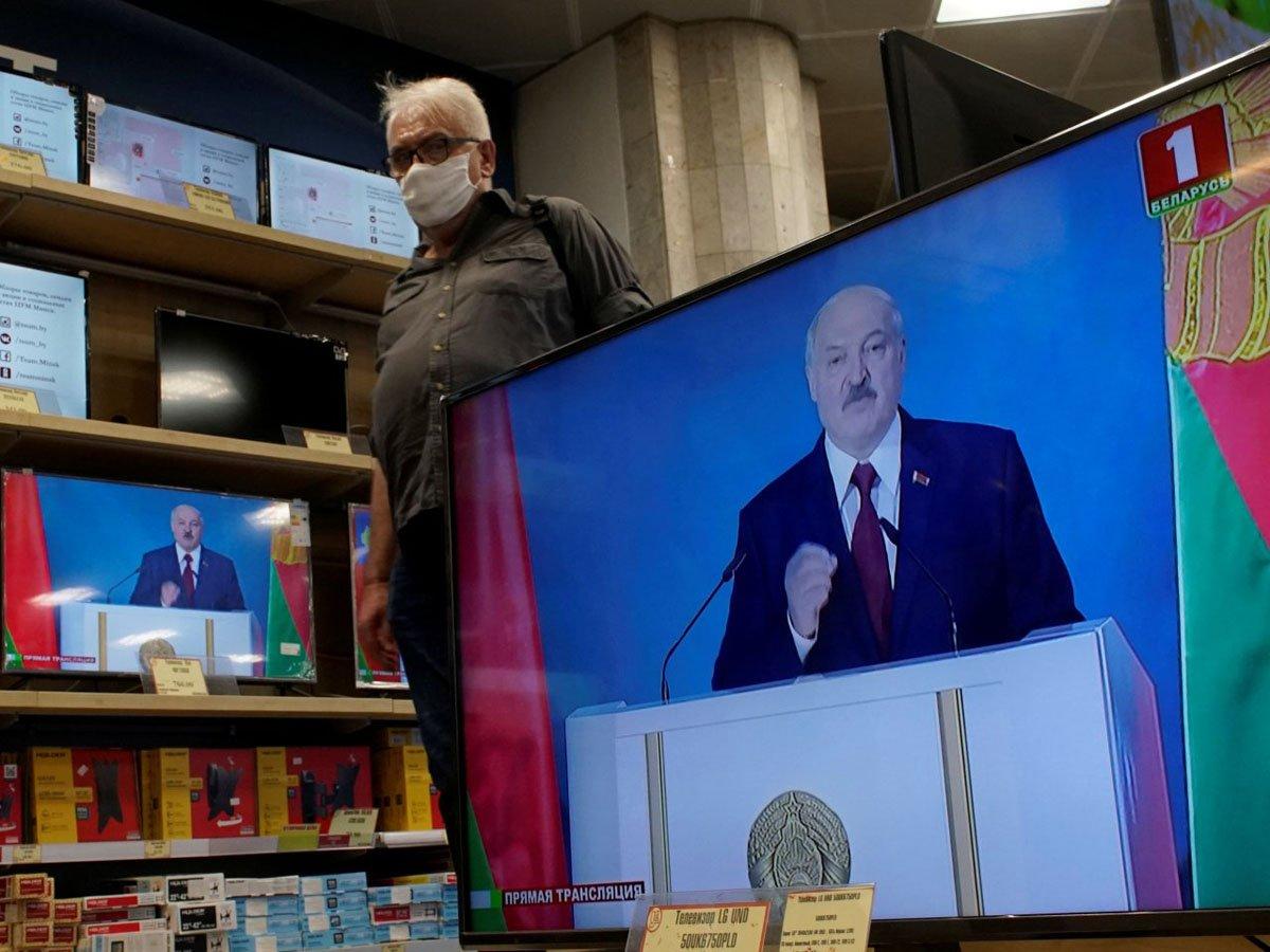 Известна реакция Сети на речь Лукашенко