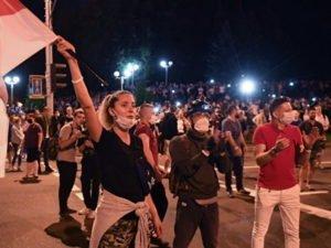 протесты в Белоруссии, новости на 13 августа