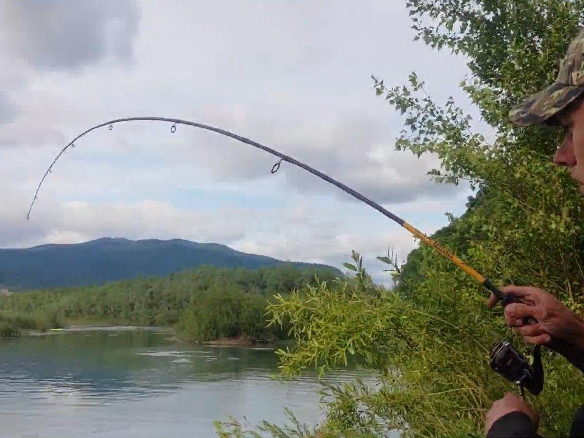 Рыбака утопила рыба