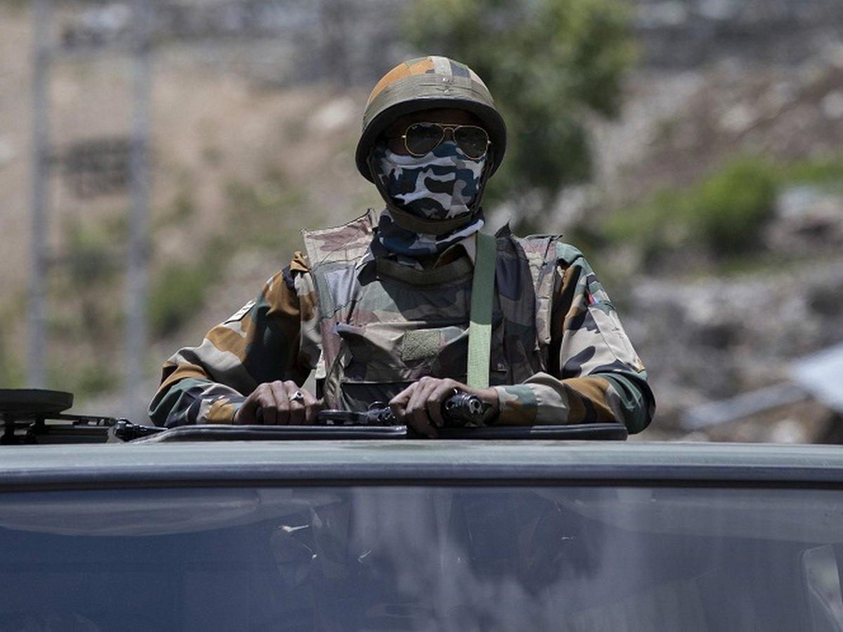 В Индии заявили о стоклновениях с китайскими солдатами