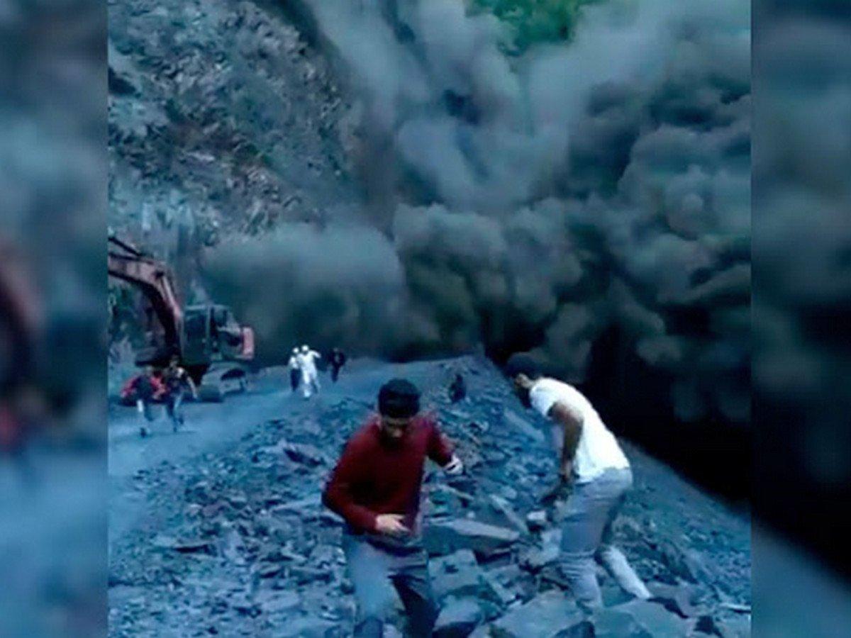Камнепад в Дагестане