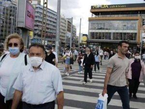 В Турции строго относятся к ношению маски