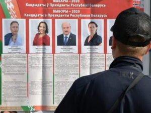 Итоги выборов в Белоруссии