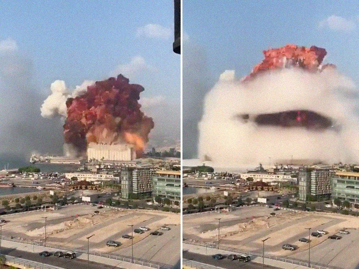 Взрывы в Бейруте сравнили с Хиросимой и Нагасаки