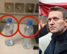 Кремль отреагировал на историю с отравленной бутылкой для Навального