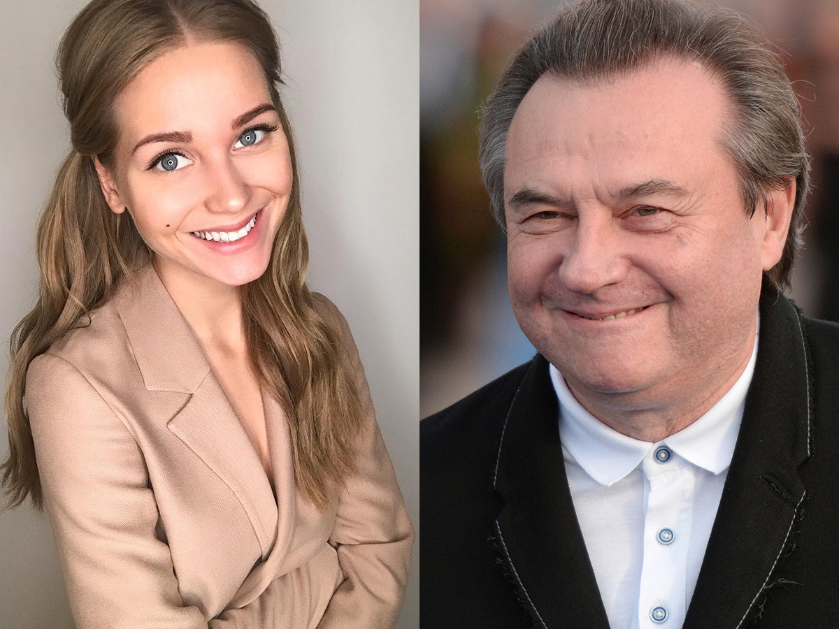 Кристина Асмус и Алексей Учитель