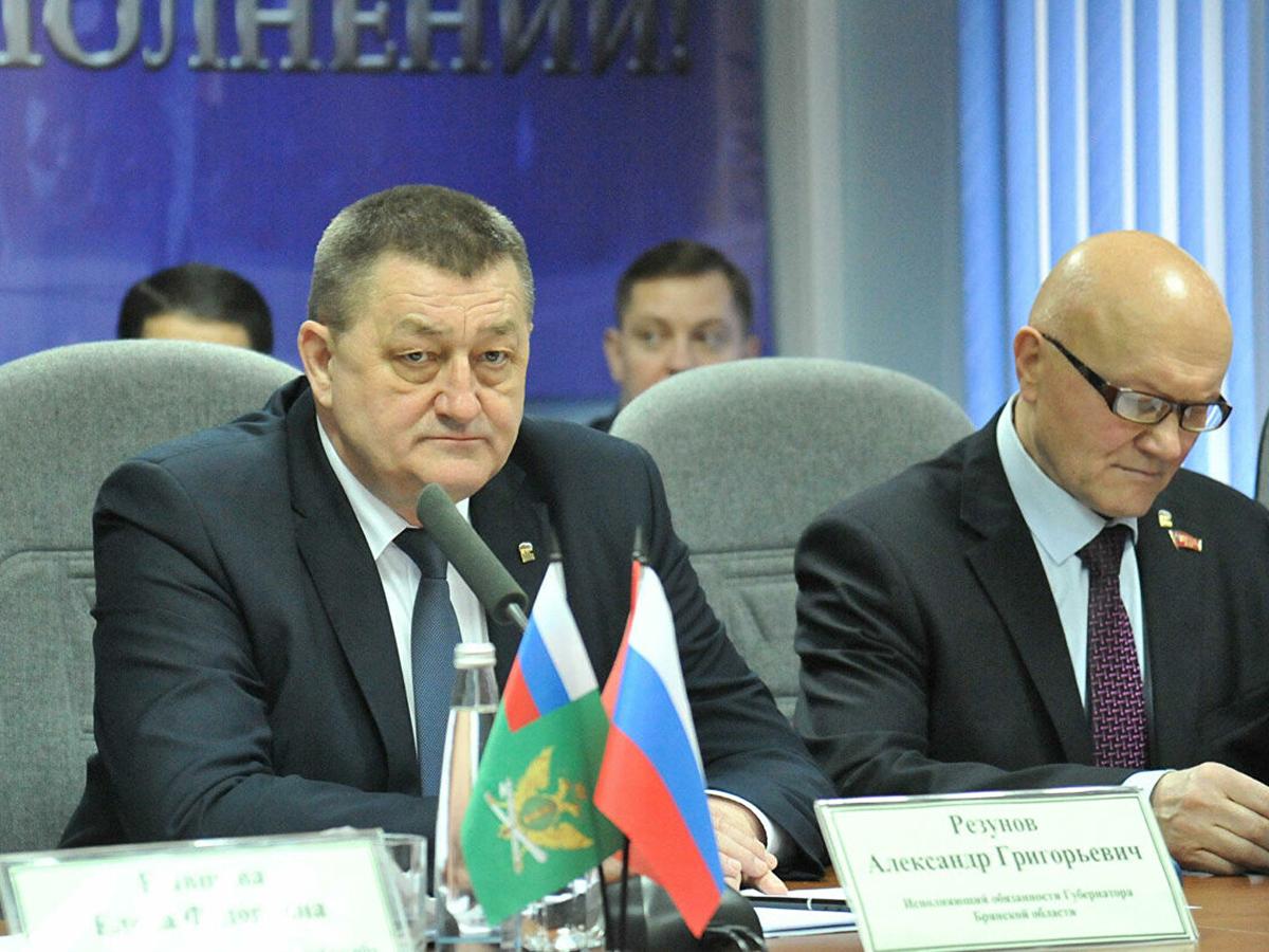 Вице-губернатор Брянска Резунов