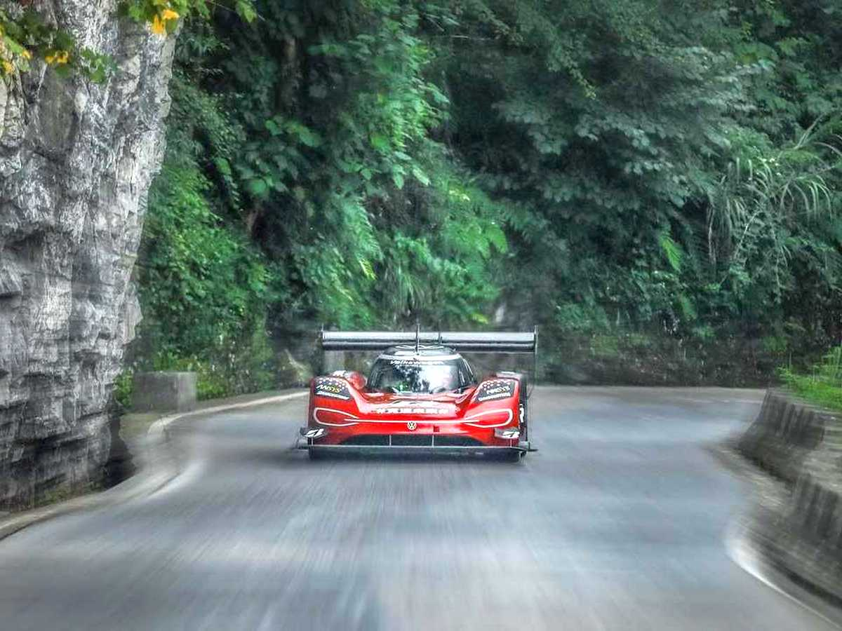 Электромобиль VW