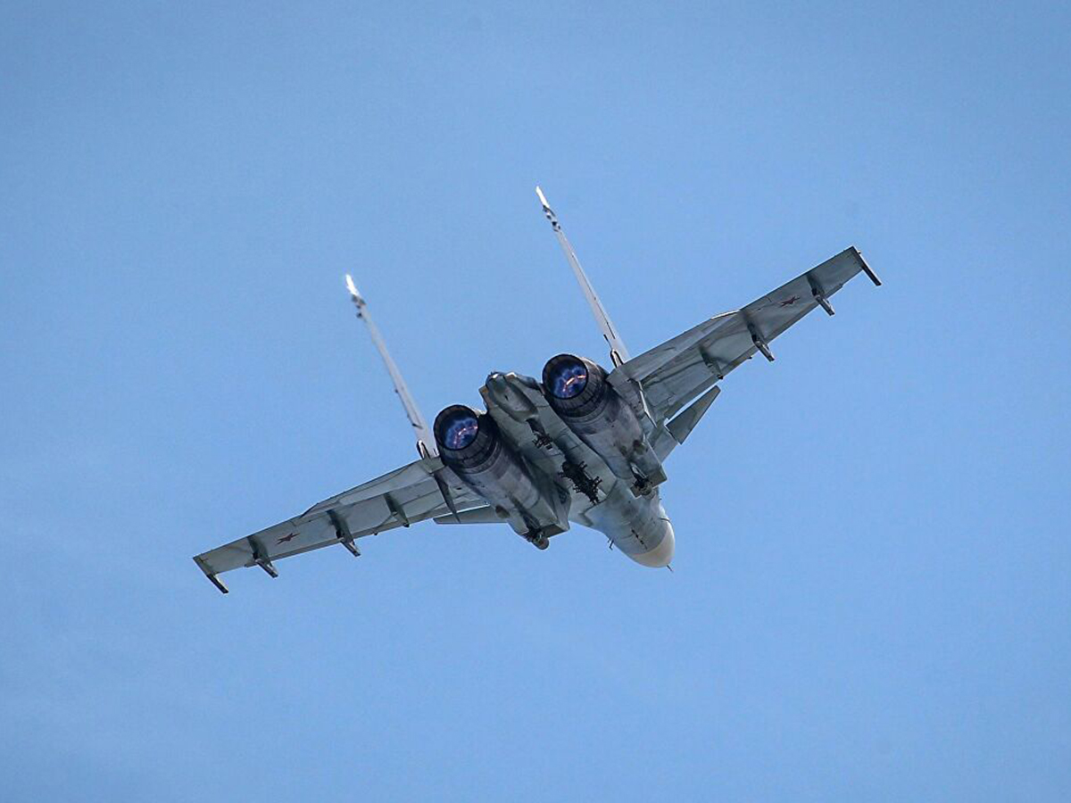 Истребитель Су-30 разбился в Тверской области