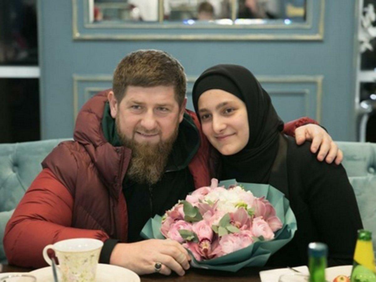 Кадыров с дочерью Айшат