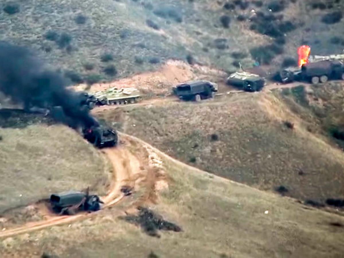 Азербайджан и Армения заявили о сотнях убитых в ходе конфликта в Нагорном Карабахе