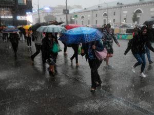 Ливень в Москве