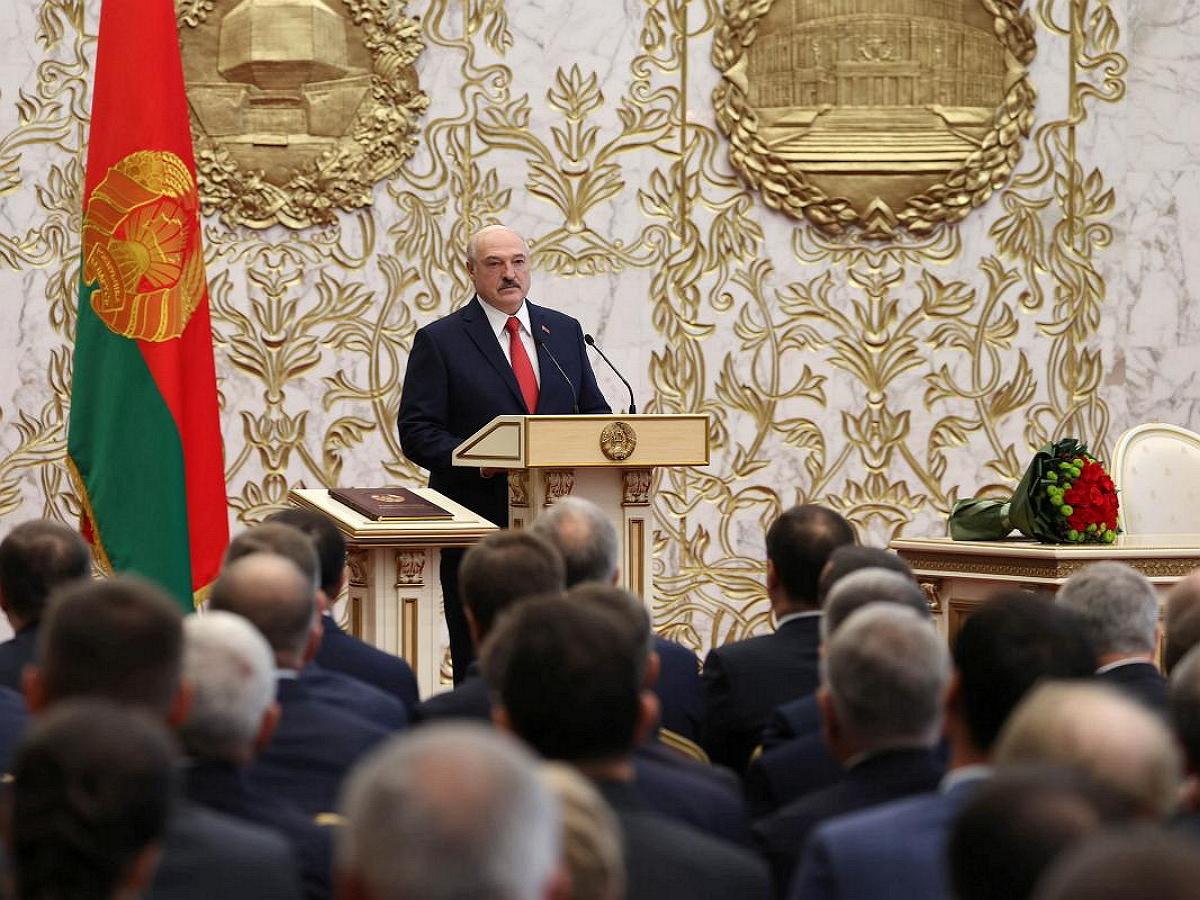 США, Украина и 8 стран ЕС отказались принимать легитимность инаугурации Лукашенко