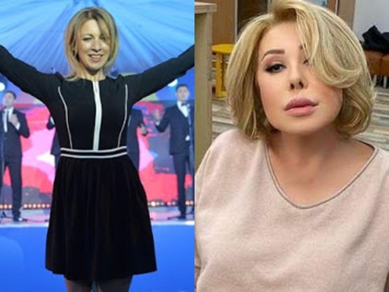 Мария Захарова написала песню для Успенской про ее дочь