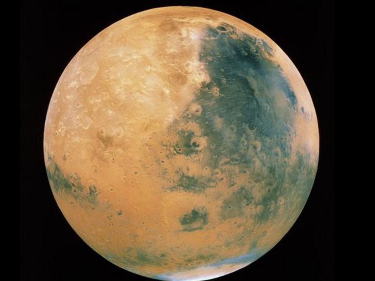 Марс озера с жидкой водой