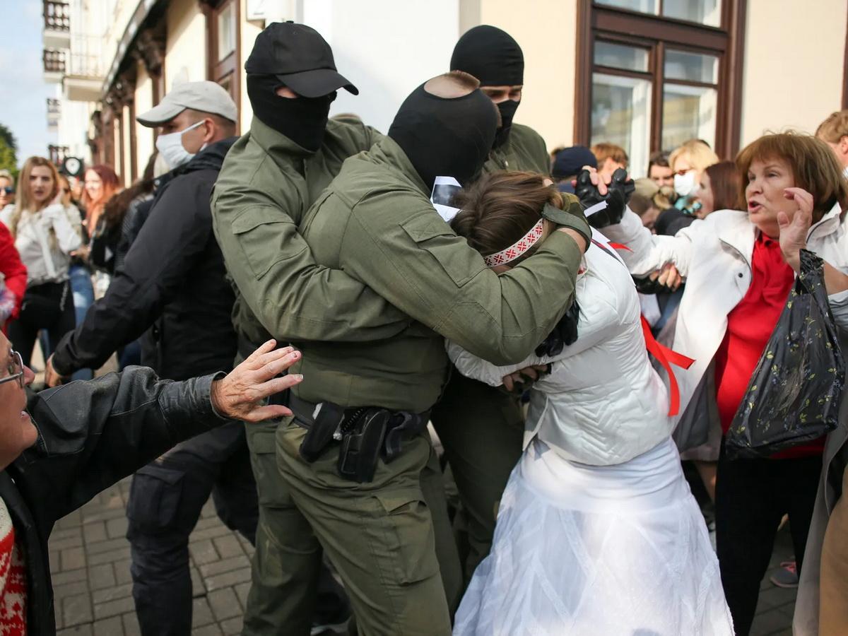 В Минске разогнали