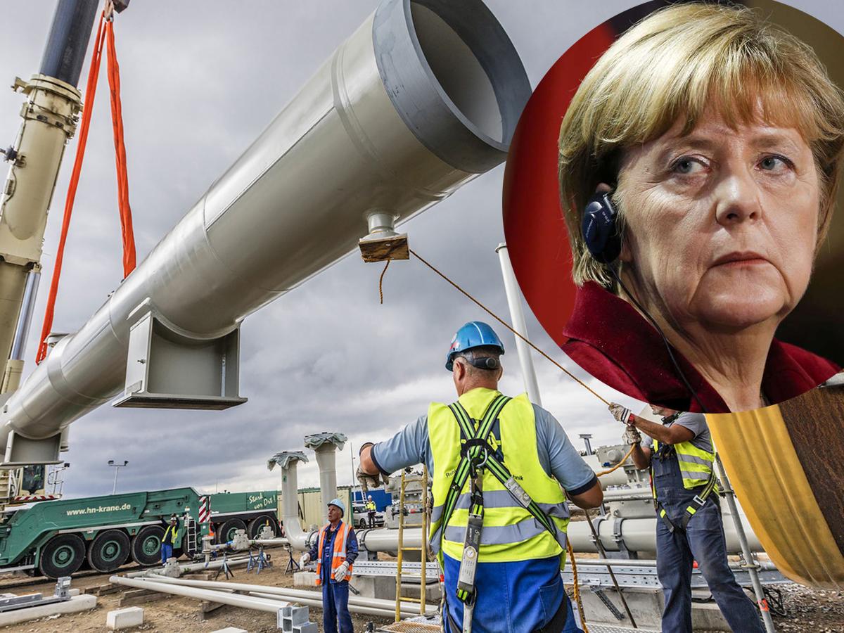 Ангела Меркель допустила введение сакнций против Северного потока-2