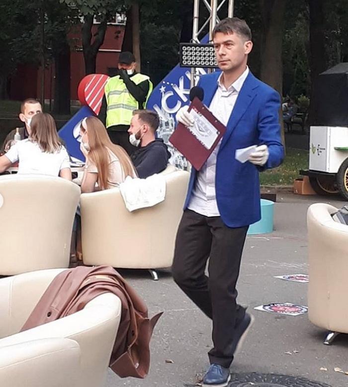 Михаил Скипский на дне города Москвы