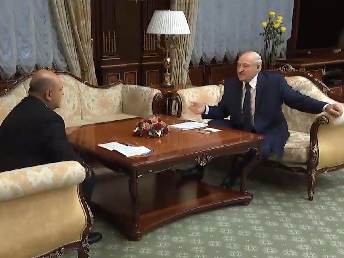 Мишустин Лукашенко