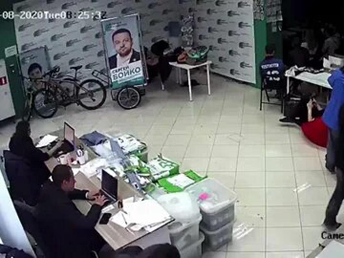 Нападение на штаб Навального в Новосибирске